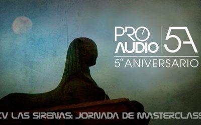 Celebraciones 5º Aniversario de ProAudio Escuela