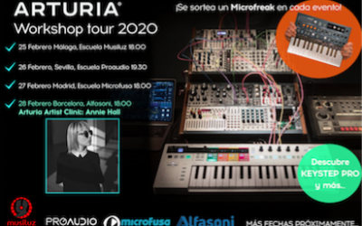Arturia Workshop tour 2020