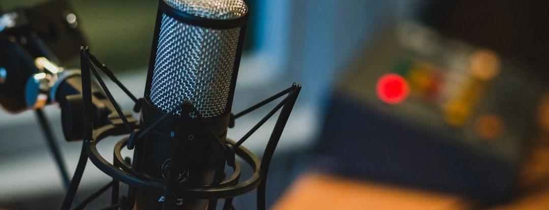 Micrófono en studio