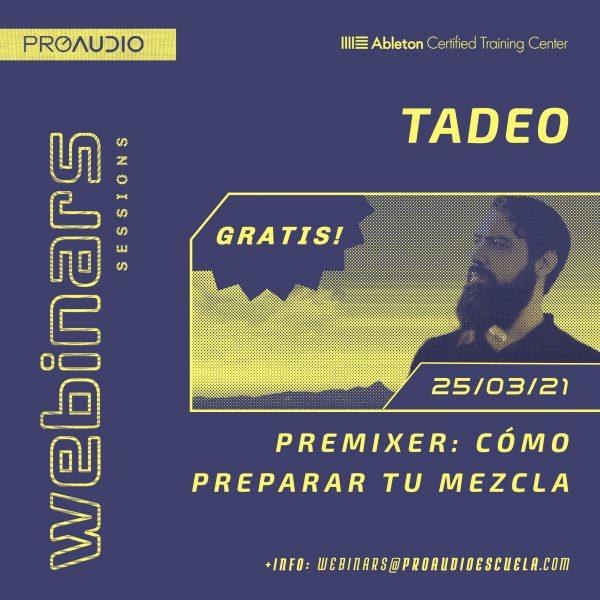 Webinar gratuito Tadeo